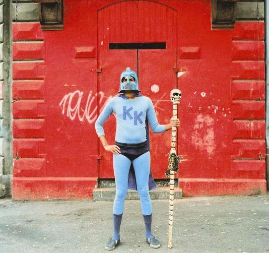 King Kahn, en grande tenue.