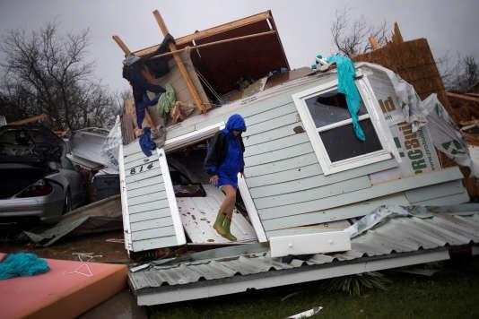 Au Texas, Harvey cause deux morts et des inondations « extrêmement graves »