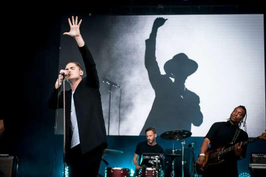 Le groupe Her, à Rock en Seine, samedi 26 aoûtscène Bosquet.