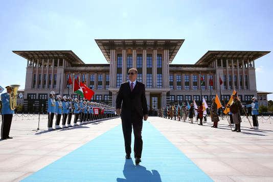 Recep Tayyip Erdogan à Ankara, le 28 août.