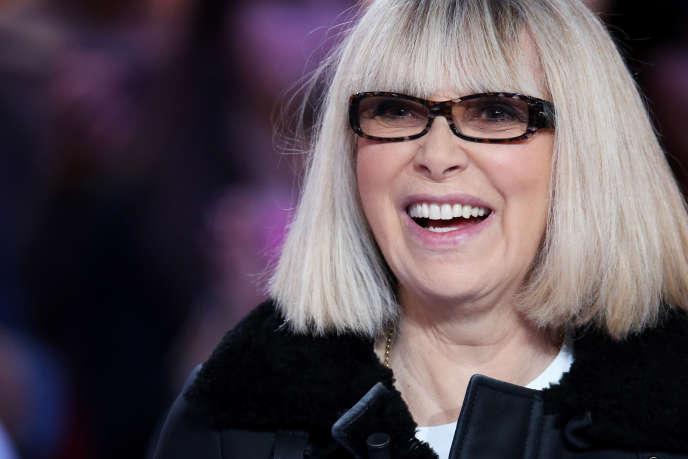 Mireille Darc sur le plateau du «Grand Journal» de Canal+ en décembre 2012 à Paris.