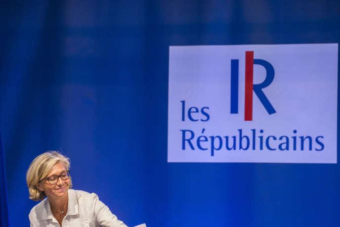 Valérie Pécresse au campus des Jeunes républicains au Touquet (Pas-de-Calais), le 27 août.