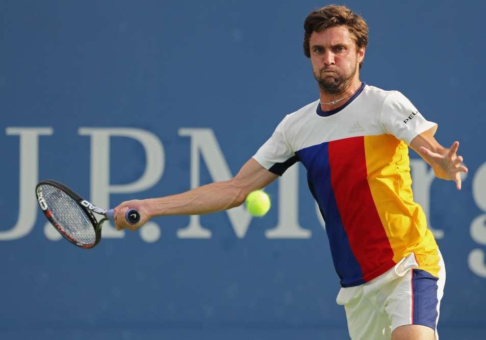 Le Français Gilles Simon a été éliminé par l'Américain Sam Querrey (17e mondial) :6-4, 6-3, 6-4.