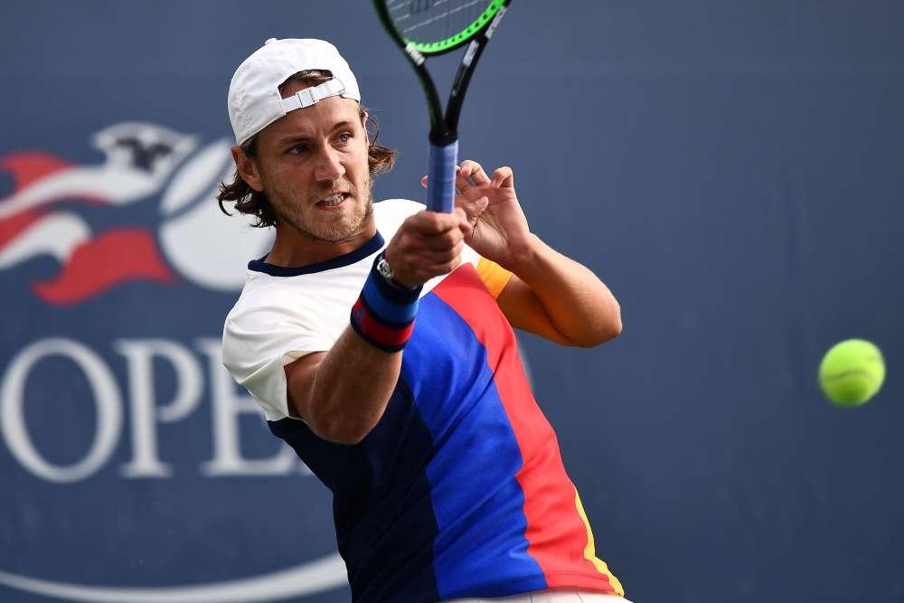 Le Français Lucas Pouille, 20e mondial, s'est qualifié en battant le Belge Ruben Bemelmans, 98e au classement ATP : 6-3, 6-4, 6-4.
