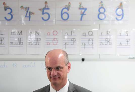 Jean-Michel Blanquer, ministre de l'éducation nationale, en août.