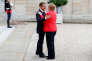 « Il est probable que le nouveau gouvernement [issu des législatives en Allemagne] souhaitera poursuivre la coopération entre la France et l'Allemagne» (Emmanuel Macron et Angela Merkel à l'Elysée, le 28 août).