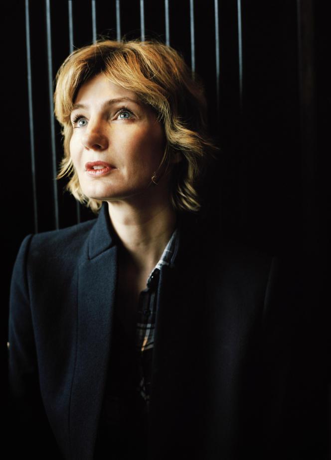 L'écrivaine Monica Sabolo.