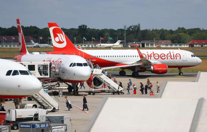 A l'aéroport de Berlin-Tegel, le 14 juin.
