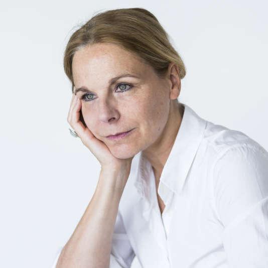 L'écrivaine Camille Laurens, 2017.