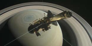 Lancée en 1997, la sonde va effectuer un plongeon dans l'atmosphère de la planète aux anneaux.