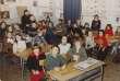 Classe élémentaire à l'école Eugène-Ducher, à Pontoise (Val-d'Oise), vers 1980.