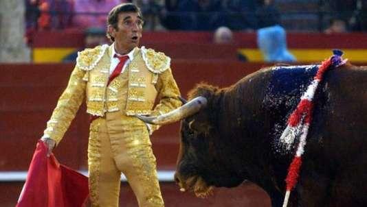 Le torero Damaso Gonzalez.