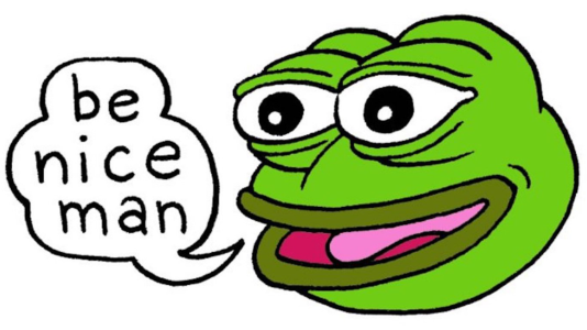La grenouille Pepe.