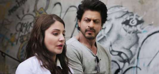 Anushka Sharma et Shahrukh Khan dans « Jab Harry Met Sejal », lointain remake de « Quand Harry rencontre Sally ».
