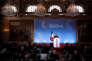 Emmanuel Macron s'adresse aux ambassadeurs, le 29 août à l'Elysée.