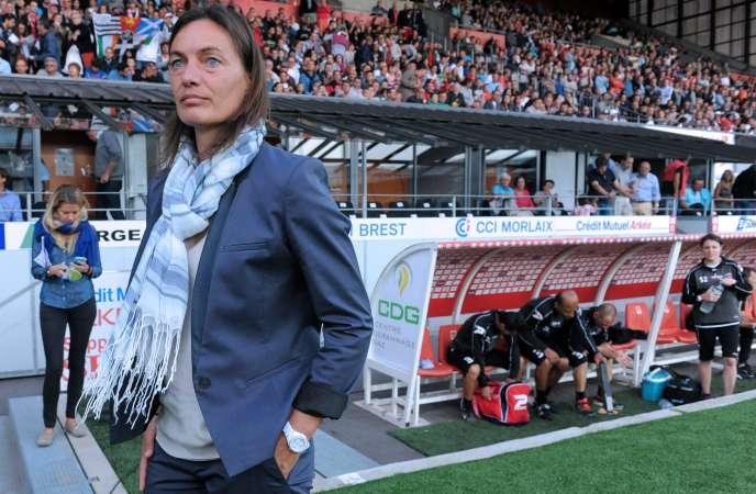 Corinne Diacre est la nouvelle sélectionneuse des Bleues.