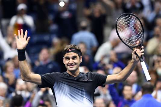 Le Suisse Roger Federer, le 29 août, à New York dans le cadre de l'US Open.
