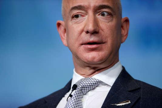 Jeff Bezos, fondateur d'Amazon et propriétaire du «Washington Post», à Washington, le 7 mars.