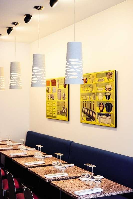 Kitchen Ter(re), le troisième restaurant de William Ledeuil se trouve boulevard Saint-Germain à Paris.