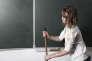 """Photo extraite de la série «""""On s'ennuyait"""". Fictions d'adolescents»réalisée en2010 dans le cadre d'une résidence d'artiste en milieu scolaire au Centre d'art de l'Yonne."""
