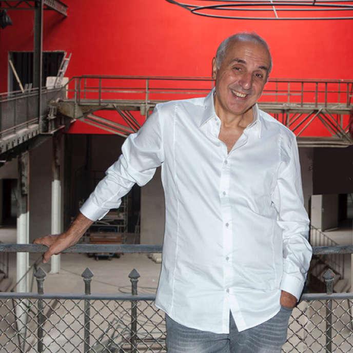 Adel Hakim à la Manufacture desŒillets,en septembre 2016.