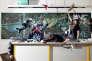 Photo extraite de la série « On s'ennuyait. Fictions d'adolescents», réalisée en2010 dans le cadre d'une résidence d'artiste en milieu scolaire au Centre d'art de l'Yonne.