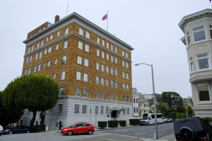 Le consulat général de la fédération de Russie à San Francisco devra fermer d'ici samedi.
