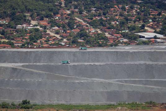 La mine Cana Brava, détenue et exploitée par SAMA SA, fait partie du groupe Eternit. A Minacu, dans le nord de l'état de Goias, le 17 janvier 2013.