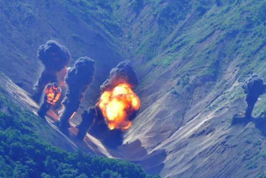 Les avions américains ont largué de vraies bombes lors des exercices militaires organisés conjointement avec la Corée du Sud pour répondre aux menaces de Pyongyang.
