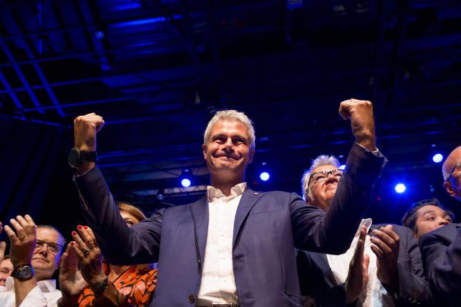 Rentrée politique de Laurent Wauquiez. Salle de l'Etoile de Châteaurenard, le 30 août 2017