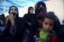 Des femmes et des enfants déplacés, dans les environs de Tal Afar (Irak), le 26 août.