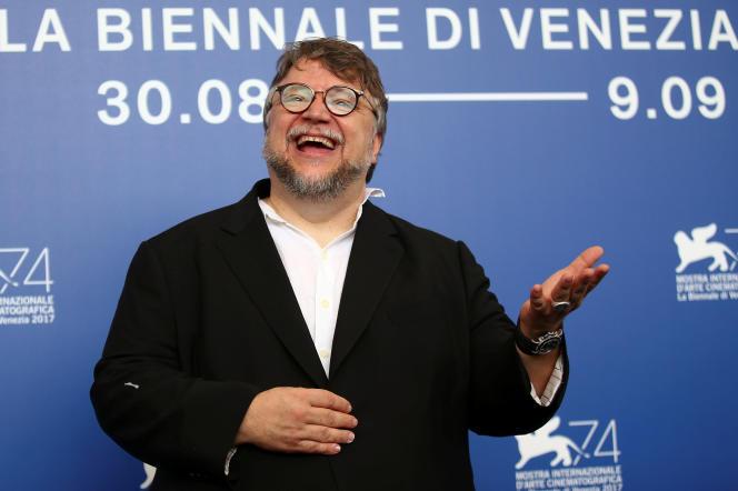Le réalisateur Guillermo del Toro lors de la présentation de son film«The Shape of Water» à la Mostra de Venise, le 31 août 2017.