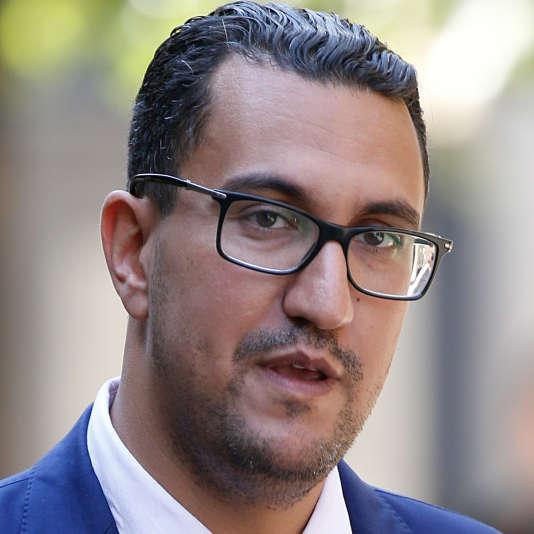 M'jid El Guerrab, député LRM de la neuvième circonscription des Français établis hors de France, à Paris, le 20 juin.