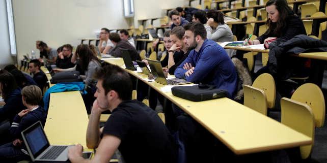 A l'université Paris-Sud, à Orsay (Essonne, en mars 2017.