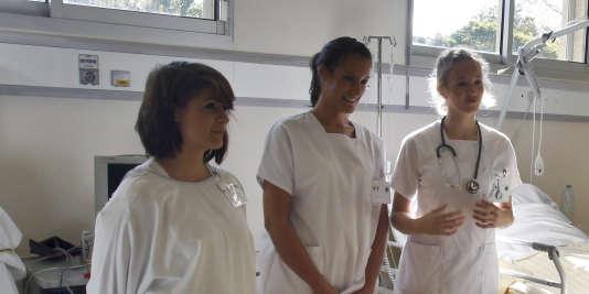 Etudiantes d'une école d'infirmières, en 2011.