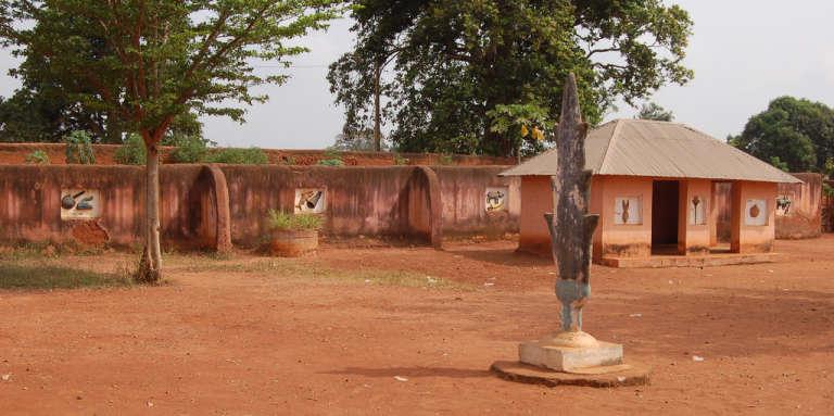 Les palais royaux d'Abomey sont inscrits au patrimoine mondial de l'Unesco depuis 1985.