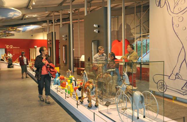 Le Musée du jouet, à Moirans-en-Montagne.