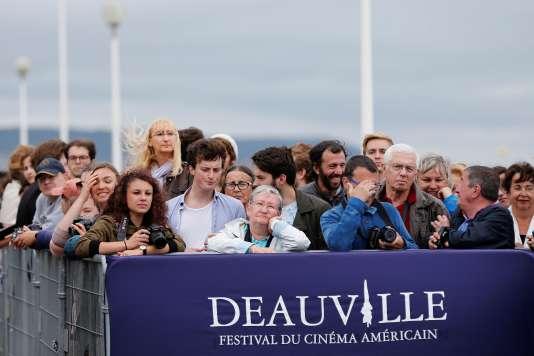Lors du 42e festival du cinéma américain de Deauville, le 5 septembre 2016.