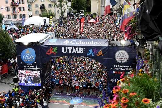 2300 coureurs ont pris le départ de l'ultra-trail cette année.