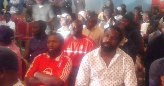 Audience de contestataires anglophones au tribunal militaire de Yaoundé en 2017. Certains encourraient la peine de mort pour « rébellion».