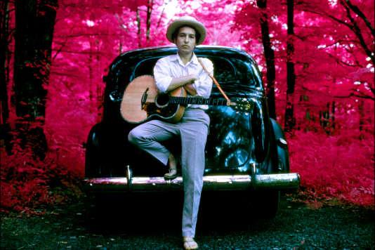 Bob Dylan à Woodstock (New York), en 1968.