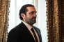 Saad Hariri, premier ministre du Liban, à Paris le 31 août.