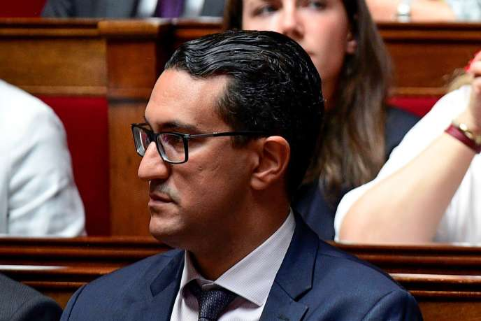 Le député de La République en marche (LRM) M'jid El Guerrab à l'Assemblée nationale (Paris), le 5 juillet.