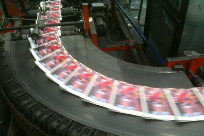 « Les imprimés papier relevant du service public et de la presse sont maintenant assujettis à la taxe sur le recyclage du papier».
