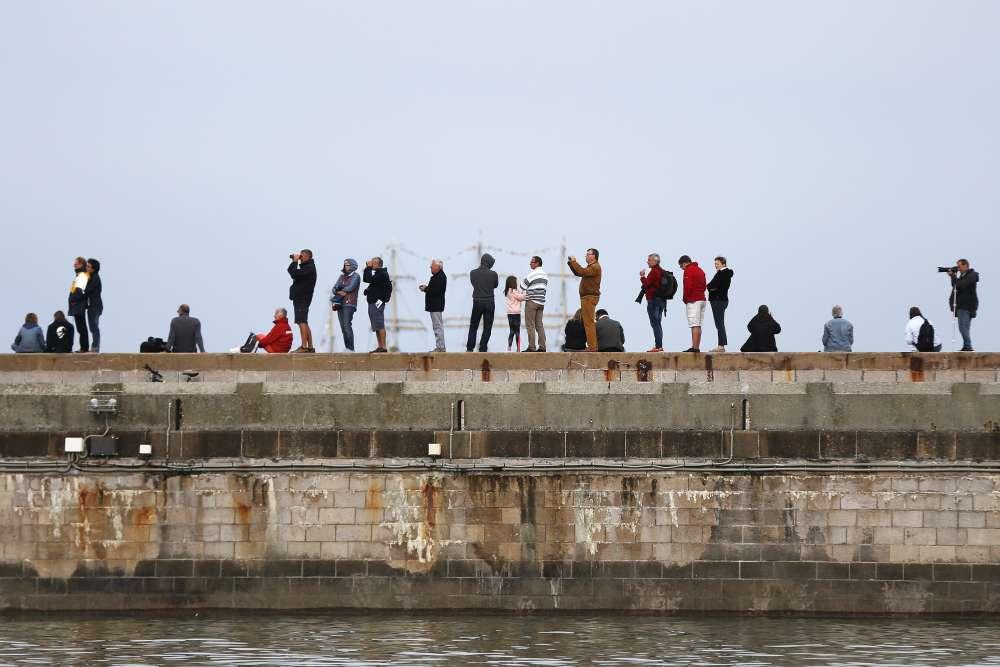 Cette grande fête nautique marquait la dernière étape de la Régate des grands voiliers, course de voiliers-écoles destinée à former des jeunes à la navigation et à promouvoir l'amitié entre les peuples.