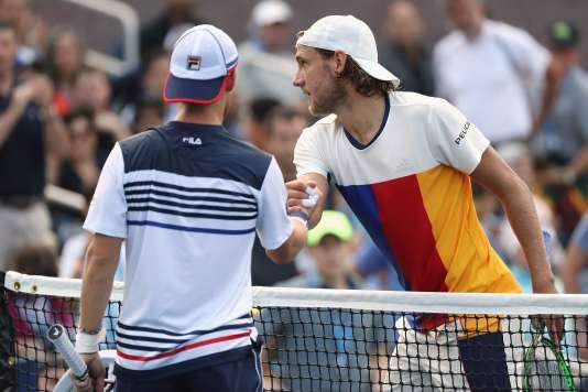 Défait par Schwartzman, Pouille a pris la porte dès les huitièmes de finale de l'US Open.