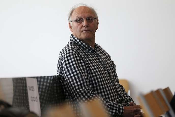 Bernard Sainz, surnommé « Docteur Mabuse», le 4 juillet à Caen.