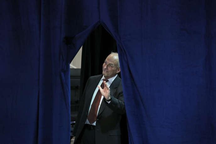 Le «chief of staff»de la Maison Blanche, John Kelly, lors d'une visite présidentielle à Springfield (Missouri), le 30 août.
