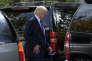 «En attendant les espoirs des baisses d'impôts de l'automne, Wall Street n'est pas vraiment mécontente du président: mesures protectionnistes unilatérales, annulation de la réforme de la santé, restriction de l'immigration, les projets les plus contestés sont pour l'instant à l'eau.» (Photo: Trump le 3 septembre à Washington).