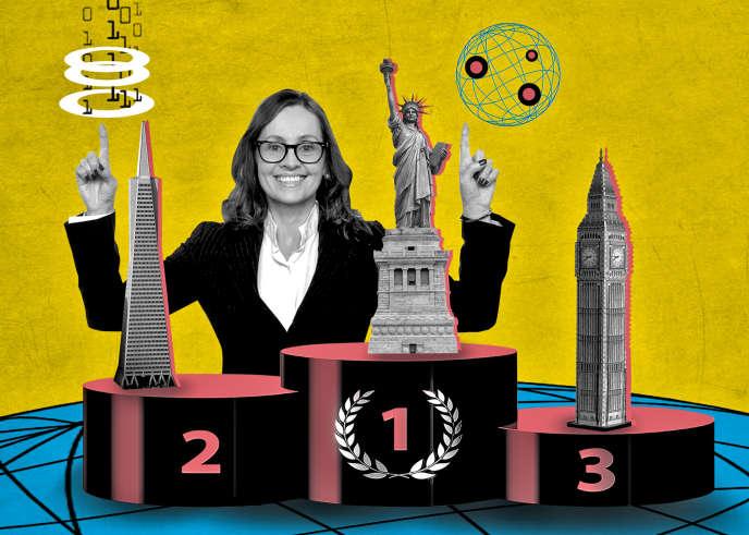 «Le Women Entrepreneur Cities Index 2017 (WE Cities), que la société américaine Dell a publié cet étéclasse cinquante villes dans le monde selon l'aide qu'elles apportent aux créatrices d'entreprises à fort potentiel, c'est-à-dire celles qui ambitionnent de dépasser le million de dollars de chiffre d'affaires annuel.».